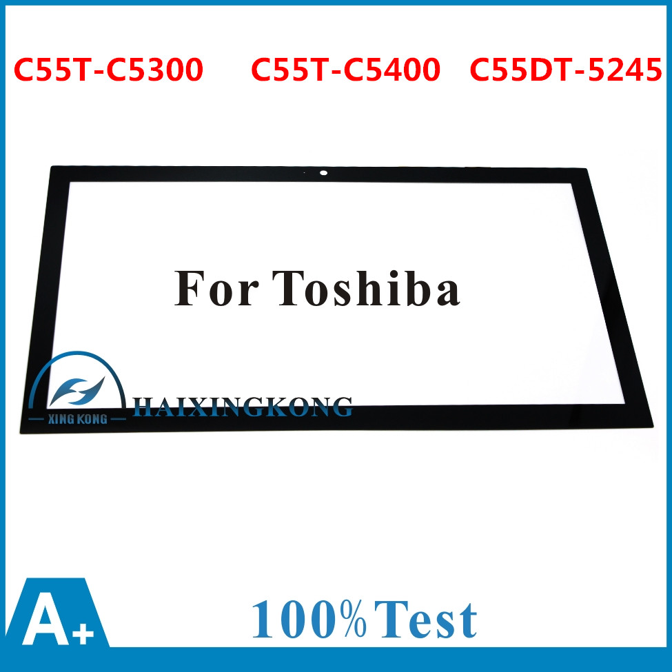 NEW High Quality Touch Screen For Toshiba C55T C55DT L50T P55T L55T L55DT S50T 15.6 Touch Screen Digitizer Glass Panel Part