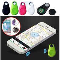 5 stücke Smart Wireless Key Finder Bluetooth Tracker GPS Locator Alarm Mini Tag Anti Verloren Itag Für Telefon Brieftasche Pet hund Keychain