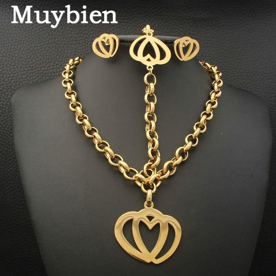 La más nueva joyería del corazón de la manera del acero inoxidable - Bisutería - foto 1