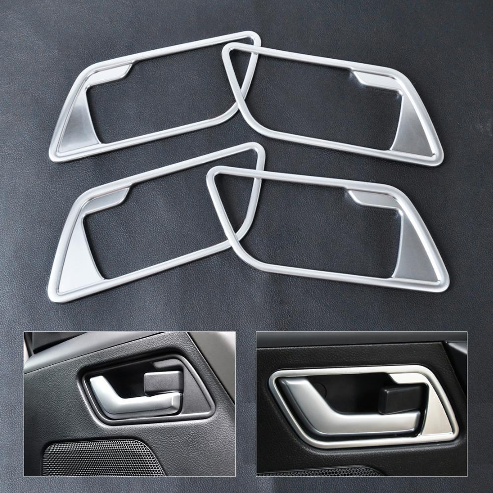 2008 Land Rover Lr2 Interior: CITALL 4pcs New Interior Door Handle Cover Frame Trim For