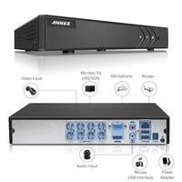 ANNKE 8CH 720P CCTV DVR Full HD 1080N CCTV Video Recorder P2P Cloud Motion Detection Email