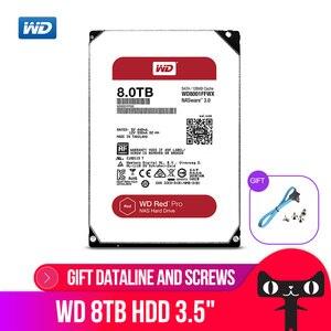 Image 1 - WD RED Pro 8TB Disco di Storage Di Rete di 3.5 NAS Hard Disk Disco Rosso 8TB 7200RPM 256M di Cache SATA3 HDD 6 Gb/s WD8003FFBX
