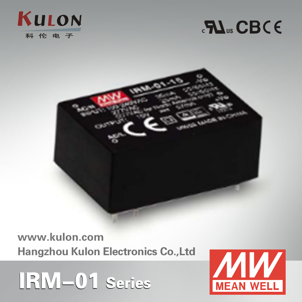 Original MEAN WELL IRM-01 single output 1W PCB module meanwell power supply original output module a1sy40p