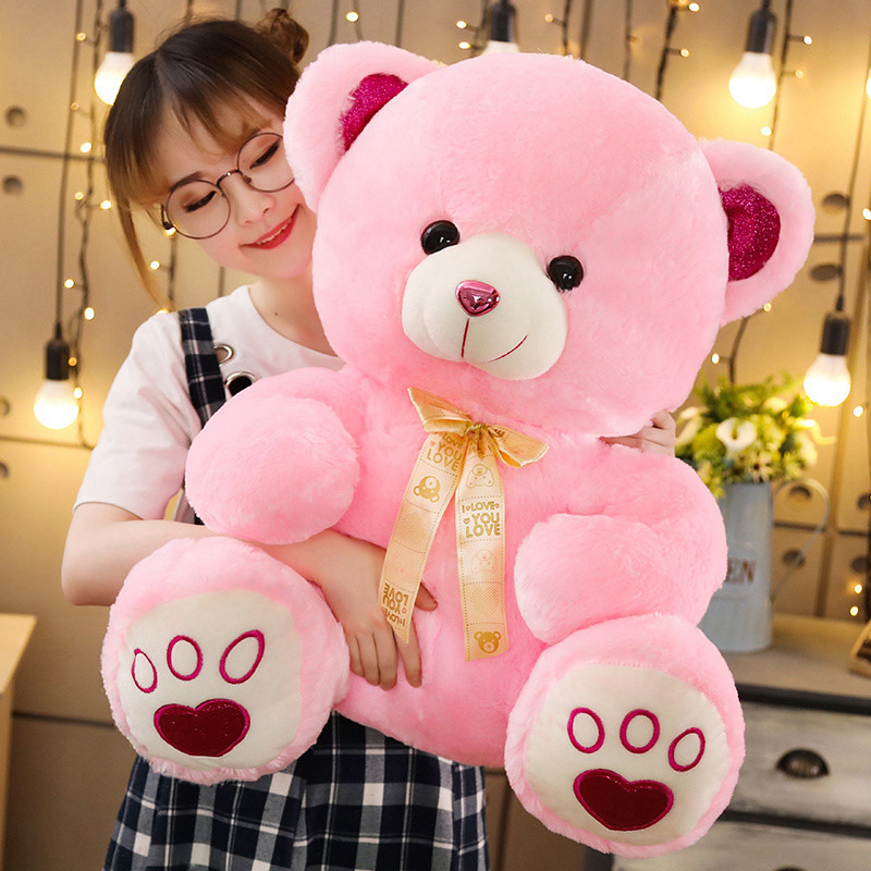 High Quality Toy Cute Cartoon Big Teddy Bear Plush Toys 35/50/65cm Stuffed Plush Animals Bear Doll Birthday Gift For Children