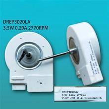 Motor de ventilador de refrigerador para Samsung, piezas de reparación de refrigerador, disipación de calor, Motor DREP3020LA, 3,5 W, 0.29A, 2770rpm, DC12V