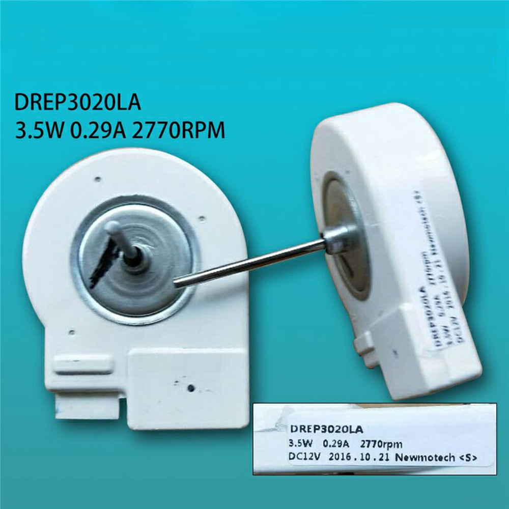 Refrigerator Fan Motor For Samsung Refrigerator Repair Parts Heat Dissipation Fan Motor DREP3020LA 3.5W 0.29A 2770rpm DC12V