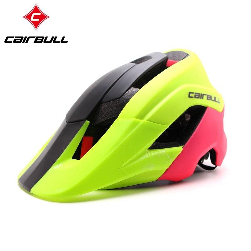 Цена за CAIRBULL 2016 Горячие Продажи Горный Велосипед Шлем MTB Шоссейные велосипедный Шлем Супер Безопасности Спорт Велоспорт Шлем Размер M/L 5 цвета