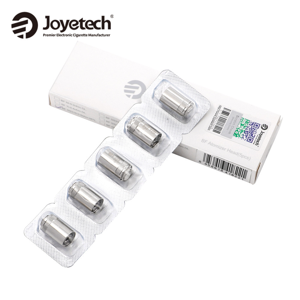 5pcs/lot Original Joyetech eGo AIO Coil BF SS316 Replacement Head 0.6ohm Coil for Joyetech ego AIO kit/Cubis/Melo III Mini/ Melo xfkm 5pcs cubis bf ss316 coil 0 5ohm 0 6ohm 1 0ohm ego aio coils evaporators replacement head for cubis pro ego aio kit