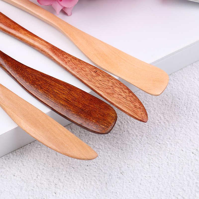Haute qualité couteau Style masque en bois japon beurre couteau marmelade couteau dîner couteaux Tabeware avec poignée épaisse