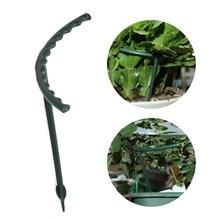 6pcs/set DIY Plant Support Frame Artificial Mini Climbing Trellis Flower Stand Garden Tool Plastic U Shape