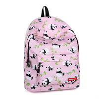 Student bag cute panda backpack female travel backpack school bags backpacks