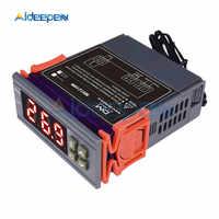 MH1210W 72V 250V 10A thermomètre numérique thermorégulateur Thermostat régulateur de température-50 ~ 110 C capteur NTC pour incubateur