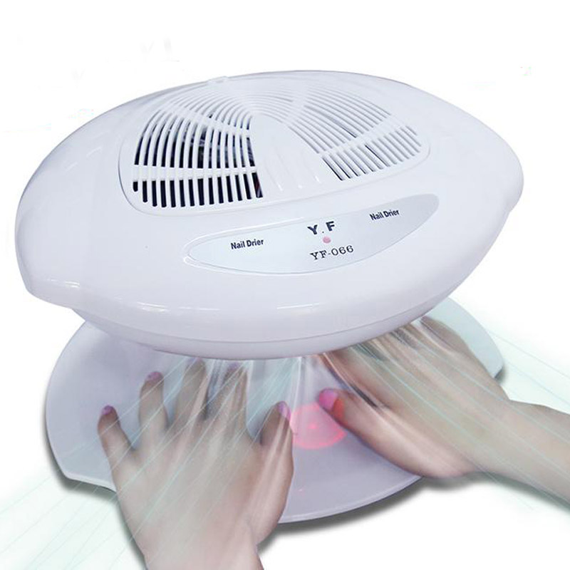 Gel Nail Polish Dryer Nail Air Dryer High Quality Fan Auto Induction Warm & Cool Wind Auto Sensors Nail Art Manicure Tools