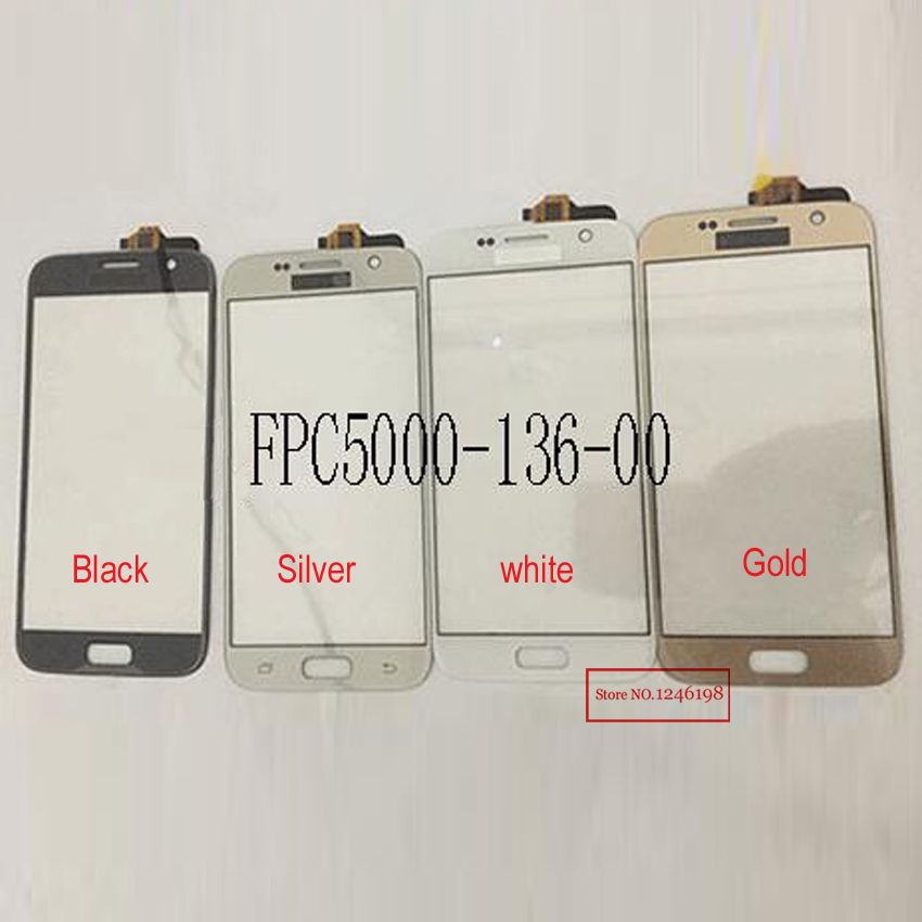 Top Quality touch screen digitizer FOR china clone MTK android phone S7 Glass Panel with code FPC5000-136-00 Repair Parts
