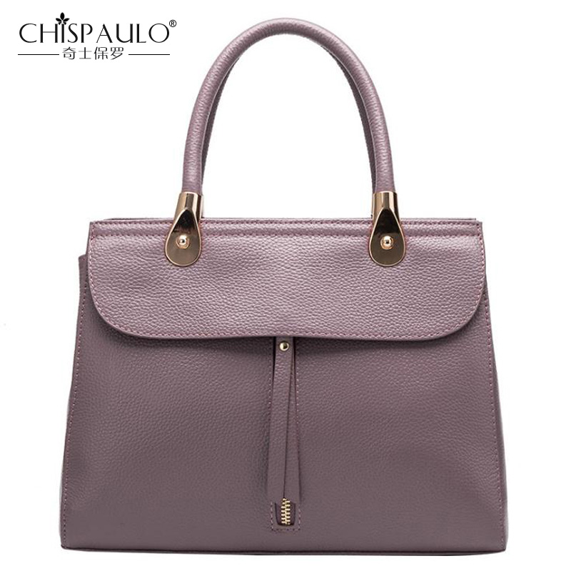 2018 New Fashion Women Bag Embossing Genuine leather Famous Designer Natural Leather Women Shoulder Bag Women Handbag Women Tote