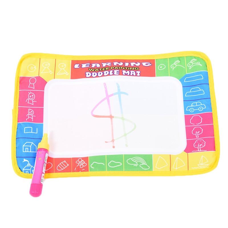 29*19 см Partable Mini Размеры Магия воды живописи каракули Коврики & 1 Волшебное перо вода Чертёжные доски для маленьких детей игрушки для рисования...