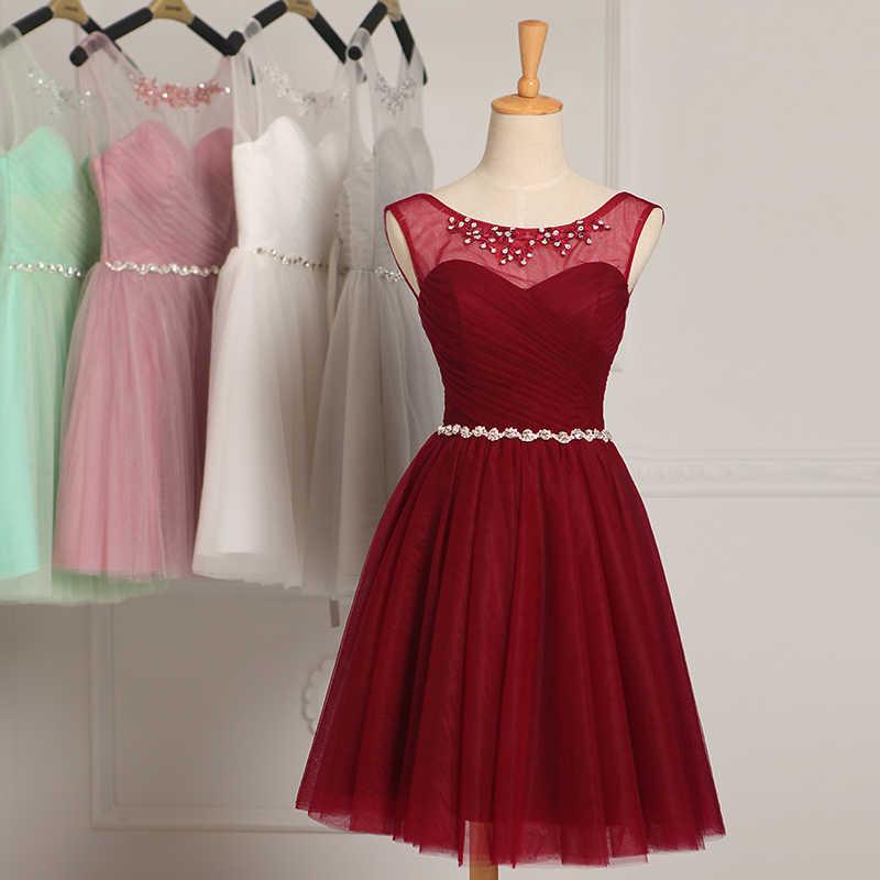 ローブ · ド · 夜会 2020 レースアップノースリーブクリスタルイブニングドレス vestido デ · フェスタウエディングドレスパーティードレステーラーカスタムメイド