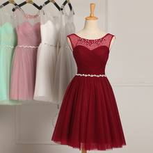 Robe de soiree 2018 Lace up sleeveless with Crystal evening dress vestido de festa prom dresses party dresses tailor Custom made
