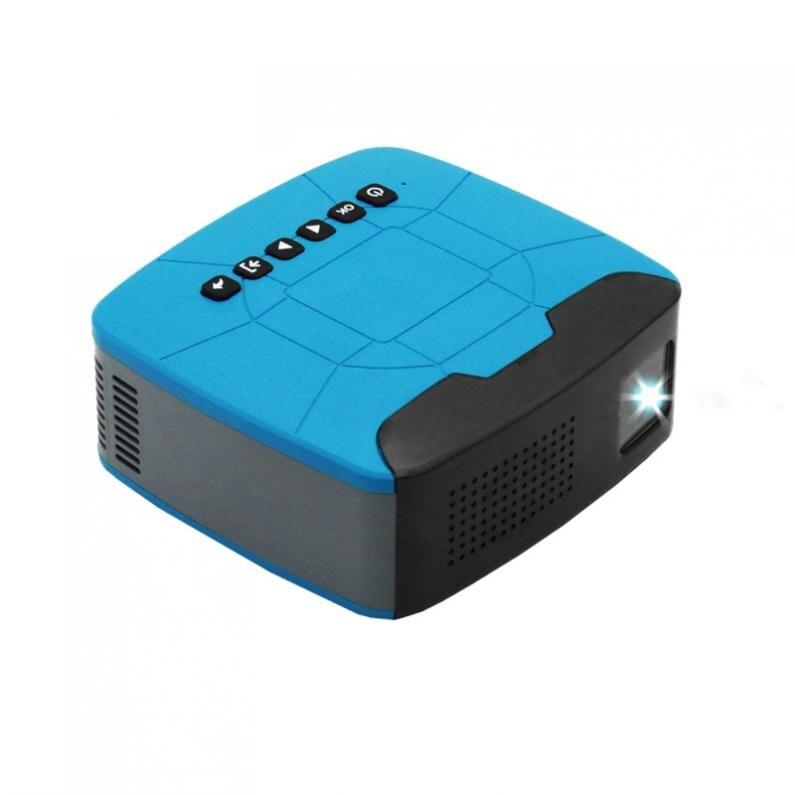 500 Lumen U20 universel 116 pouces Portable Mini projecteur LED pour la maison et le divertissement avec un Design de mise au point courte - 3