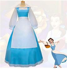 Inspired by Karneval Beauty and the Beast Bell Cranel Cosplay Costumes Tops/Bottoms Solid Long Sleeves Shirt Skirt