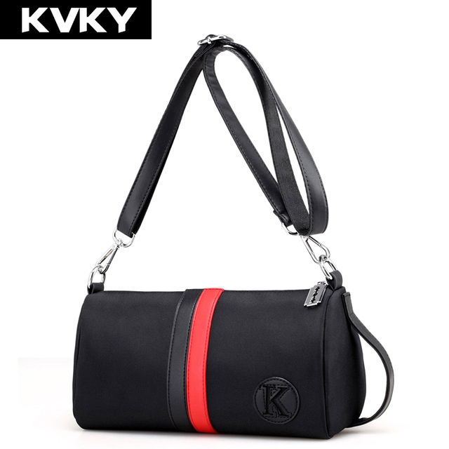 KVKY Brand Nylon Women Messenger Bags Designer Casual Clutch Original Ladies  Handbags Female Shoulder Bags Waterproof Travel Bag ac5b5ac3452e3