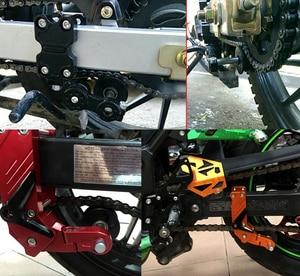 Image 5 - Universal motorcycle chain tensioner sprocket/pulley/chainsaw For honda cbr1000rr fireblade cbr1100xx blackbird ST1300 st1300a