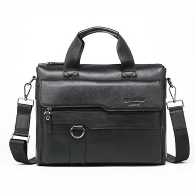 Fashion Business Laptop Briefcase Messenger Bag Men Office Computer Bag Business Work Sacoche Homme Abogado Man Bag Big GWB-021