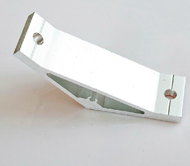 135 Degree Inside Corner Bracket Aluminium Extrusion Support Connector For Aluminum Profile 100100