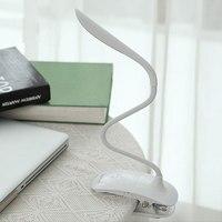 LED Reading Eye Protection Desk Lamp Adjustable Brightness USB Rechargeable LED Desk Table Lamp Light With