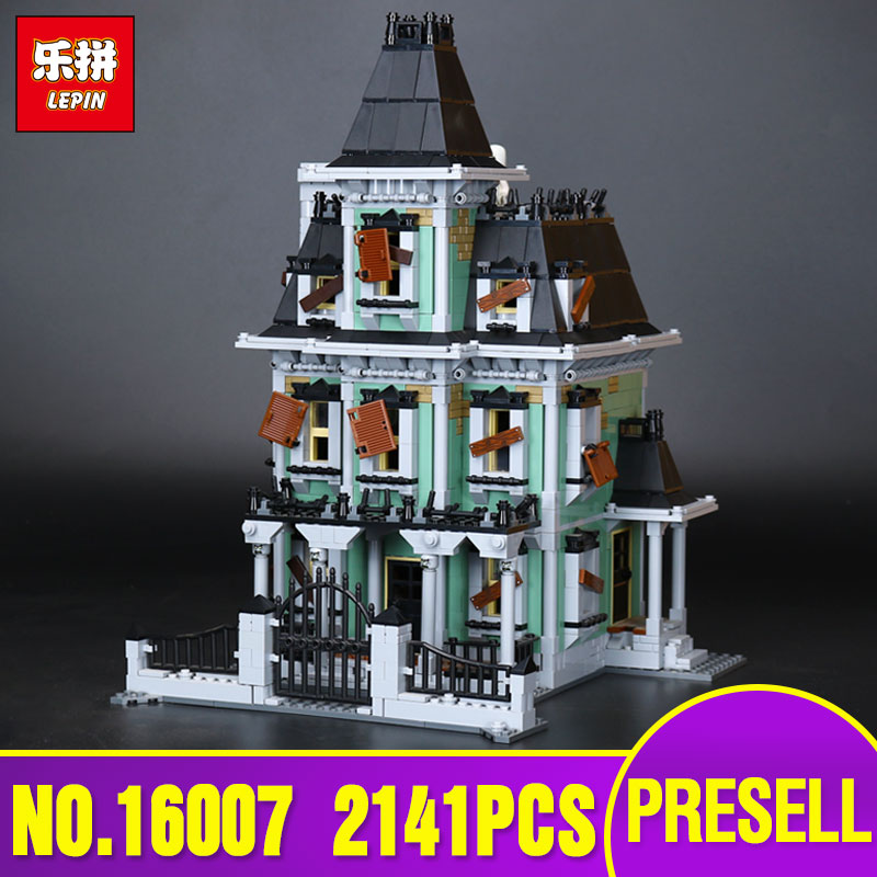 New LEPIN 16007 2141Pcs Monster fighter The haunted house Model set Educational Building Kits Model Compatible With toys 10228 куплю москвич 2141 в костроме