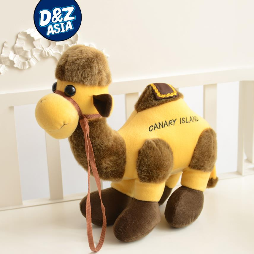 Alpaca plush toys camel dromedary two-humped camels plush dolls birthday gift promotion gifts