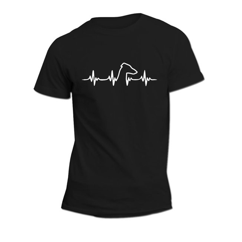 Greyhound heartbeat  Unisex Shirt  Dog lovers gift idea  Greyhound  Heartbeat design  Parcel WILL NOT arrive in time