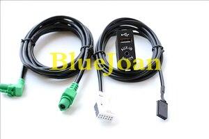 Image 2 - משלוח חינם BlueJoan GPS ניווט כבל USB AUX בשקע תקע לרתום מתאם עבור BMW E39 E46 E38 E53 X5 z4 E70 רכב רדיו