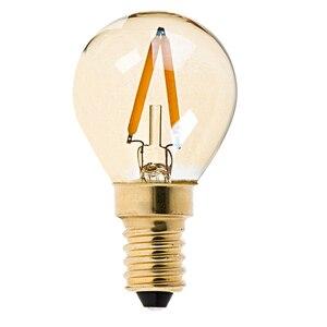 Image 5 - LED z możliwością przyciemniania w stylu Vintage żarówka edisona złoty odcień żarówki żarnikowe C35T C32T A19 ST45 ST64 G40 G80 G125 Retro lampa LED 220V E27 światła