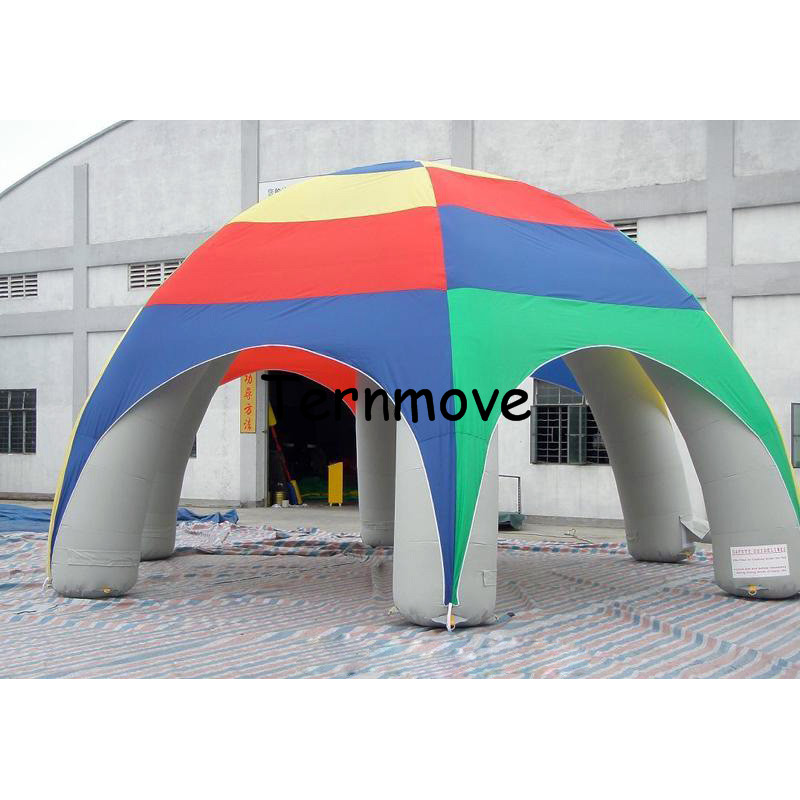 Inflatable Canopy Tent for shelter,inflatable party advertising dome event air tight Tent,house,spider Outdoor Gazebo tent dome party tent for event inflatable tent for wedding waterproof canopy tent inflatable tent free ce ulblower