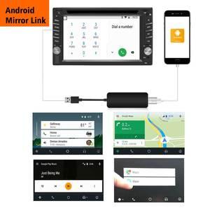 Image 5 - 2019 無線車ラジオアップル CarPlay & Android の自動リンク USB ドングルタッチスクリーン用ナビゲーション DVD システム