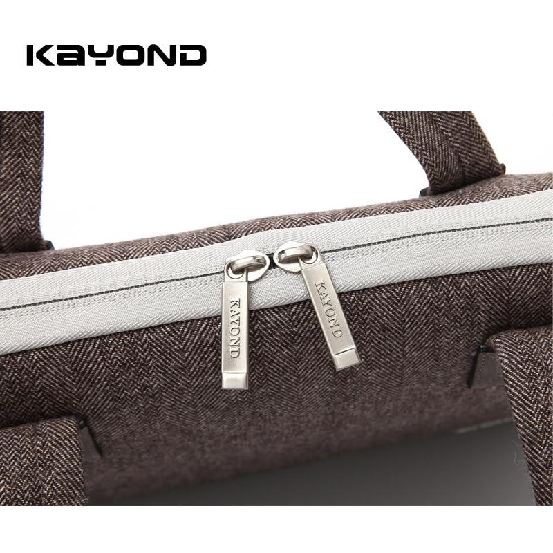 Kayond Nylon Business Laptop Sleeve Bag Bolso a prueba de arañazos - Accesorios para laptop - foto 5
