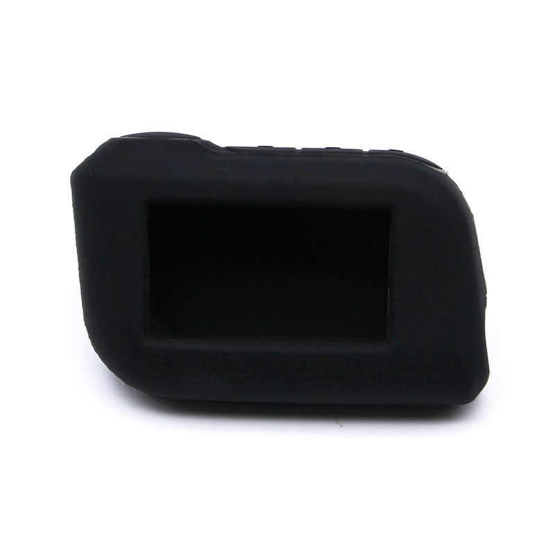 A93 מקרה A93 סיליקון מקרה עבור starline A93 A63 lcd אזעקה מרחוק starline A93 מקרה סיליקון LCD Keychain כיסוי