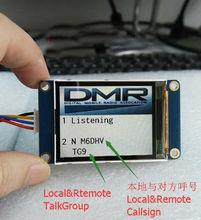"TFT 2.2 ""인치 LCD 디스플레이 화면 MMDVM 핫스팟 Callsign 모듈 라즈베리 파이 B 2 3B NEXTION PI2"