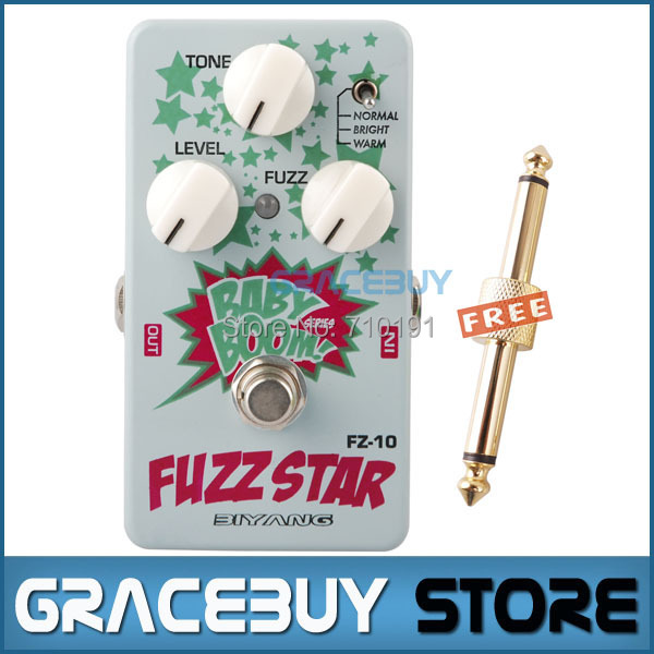 Biyang Baby Boom FZ-10 Electric Guitar Effect Pedal Three Models Fuzz Star Distortion True Bypass Musical Instruments biyang baby boom fz 10 electric guitar effect pedal three models fuzz star distortion true bypass musical instruments
