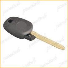 PREISEI 20 шт./лот Автомобильный Транспондер чипы ключ оболочки заменить для toyota с toy43 лезвие