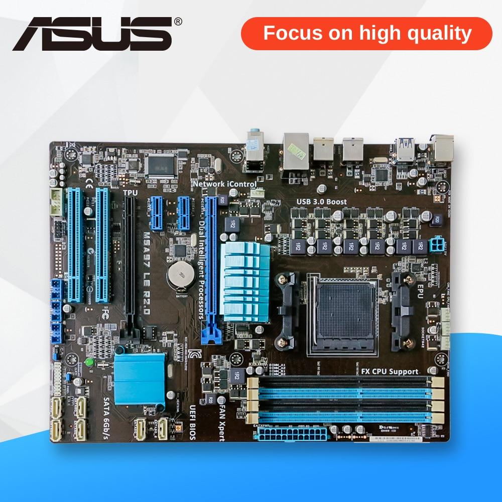 Asus M5A97 LE R2.0 Desktop Motherboard 970 AM3/AM3+ FX6300 FX8300 DDR3 32G SATA3 USB3.0 ATX m5a97 le r2 0