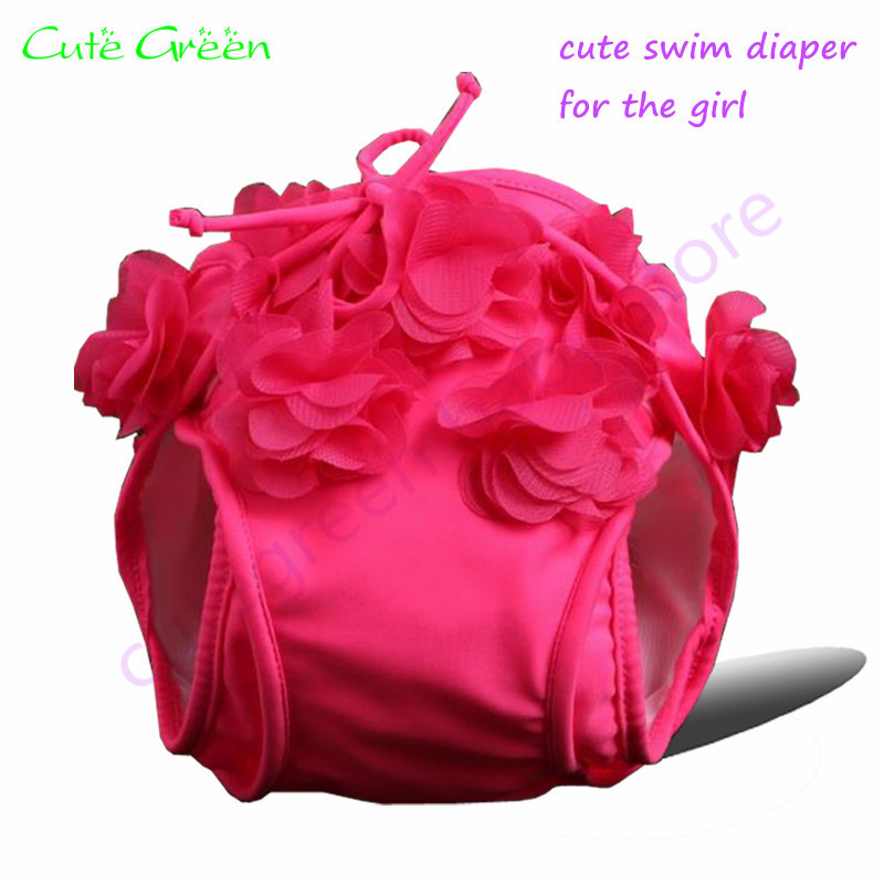 Waterproof Polyester Baby Swim Diaper For Girl;washable Baby Pool Pant For Swimming;reusable Baby Swimming Nappy Swimming Diaper