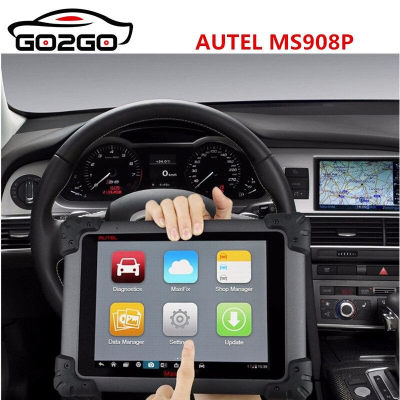 Autel MaxiSYS Pro MS908P Voiture De Diagnostic/ECU Codeing/Programmation Système avec WiFi/Bluetooth Soutien J-2534 Programmation En Ligne
