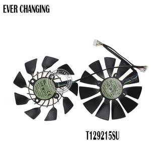 Image 1 - Ventilateur refroidisseur de carte, 12V, 0,5a cc, 95MM, pour ASUS GTX760, 780, 780TI, R9 280, R9, 290, R9, 280X, 290X, R9, 390, 390X, GTX970