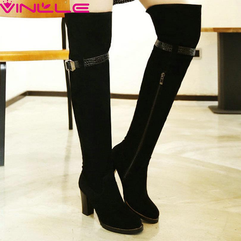 Compare Prices on Over The Knee Boots Size 11- Online Shopping/Buy ...