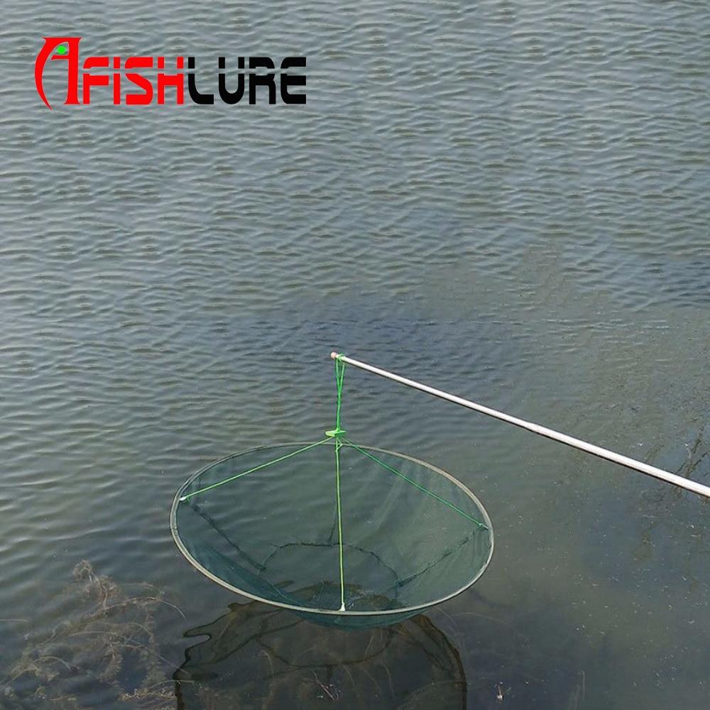 1 шт. 31 дюйм(ов) падение посадка рыболовная сеть большое Pier Harbour пруд креветки приманки краб креветки для рыбалки аксессуар