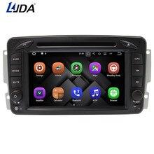 LJDA 2DIN ANDROID 7,1 dvd-плеер автомобиля для Mercedes-Benz CLK W209 W203 W168 W208 W463 Vaneo Viano gps навигация авто радио