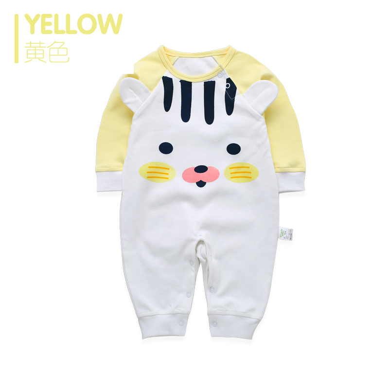 Newborn Baby Boy Girls Rompers Long Sleeve Cotton Romper Clothes Baby Jumpsuit For Babies Unisex Animal Infant Boy Girl Clothing newborn infant baby boy girl cotton romper jumpsuit boys girl angel wings long sleeve rompers white gray autumn clothes outfit
