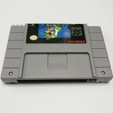 Super Marioed 16 pouco NTSC Cartão de Jogo cartão de Jogos Do Mundo Para OS EUA Versão Jogador Do Jogo